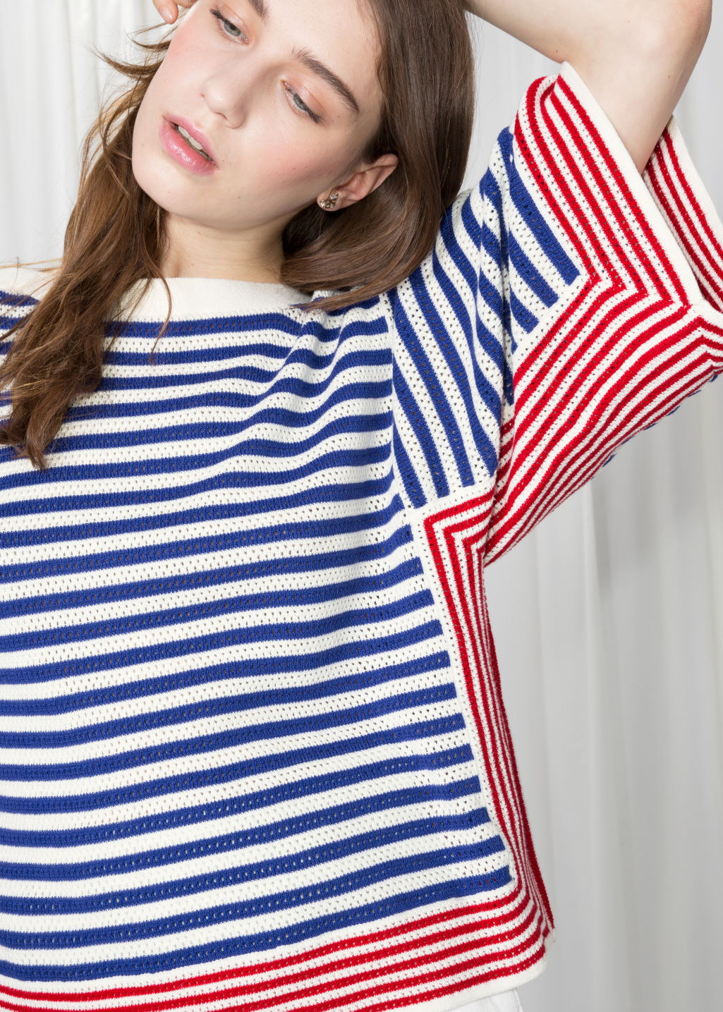 f32740ee2 Shoptagr | Striped Crochet Top by & Other Stories