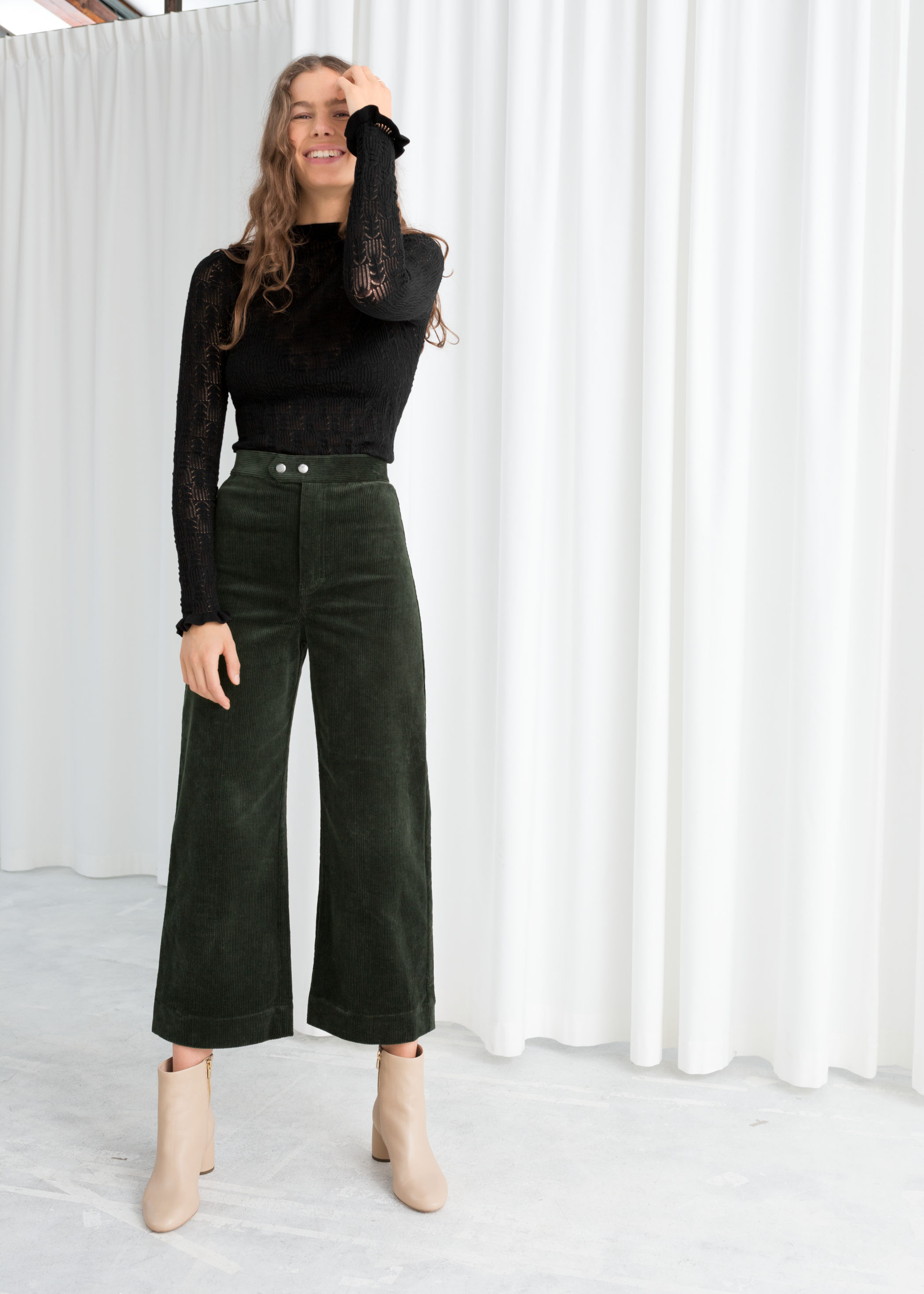 & OTHER STORIES // CORDUROY CULOTTES //<BR>£59.00