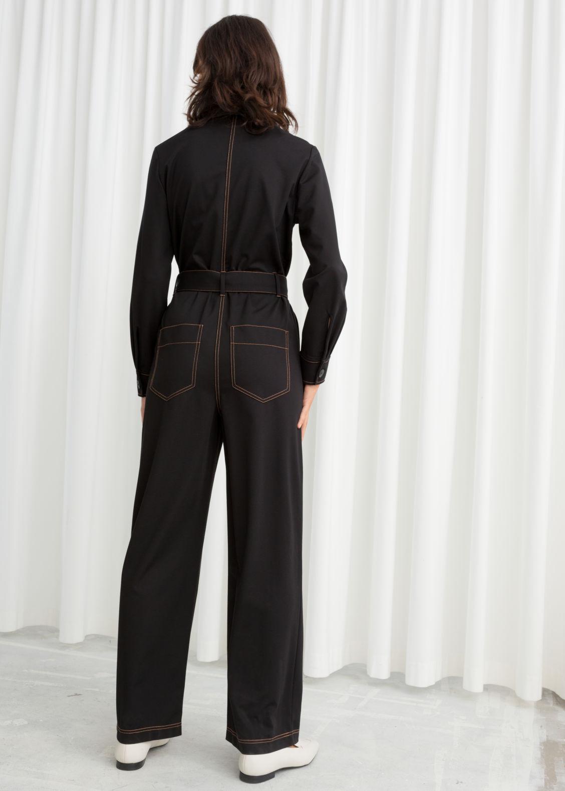 b4771e5c64d6 Workwear Boiler Suit - Black - Jumpsuits   Playsuits -   Other Stories