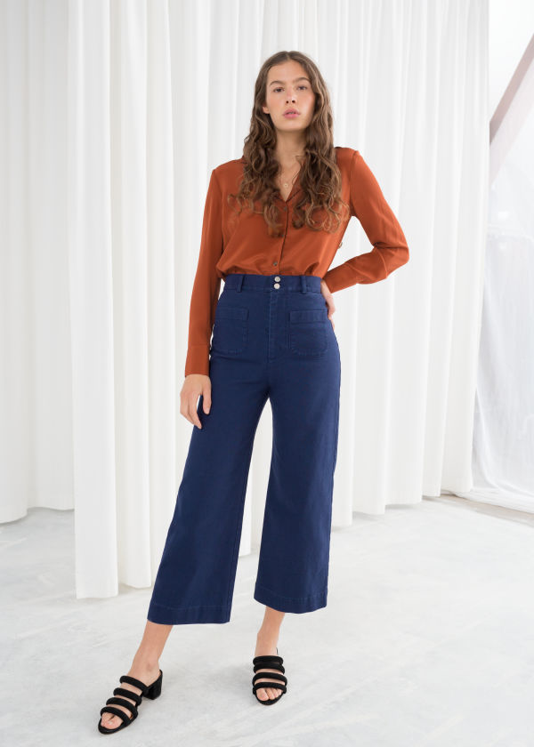 Stretch Workwear Denim Trousers