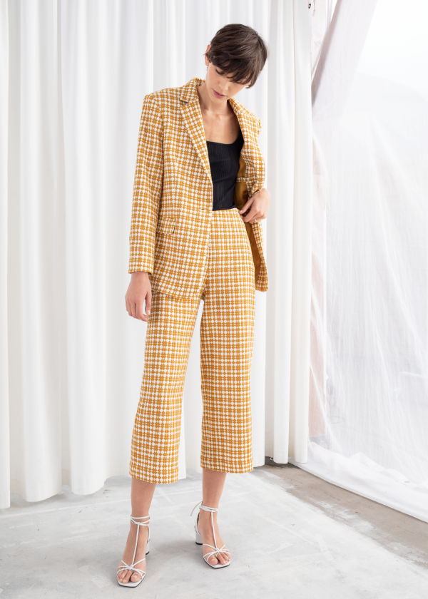 Cross Stitch Wide Trousers