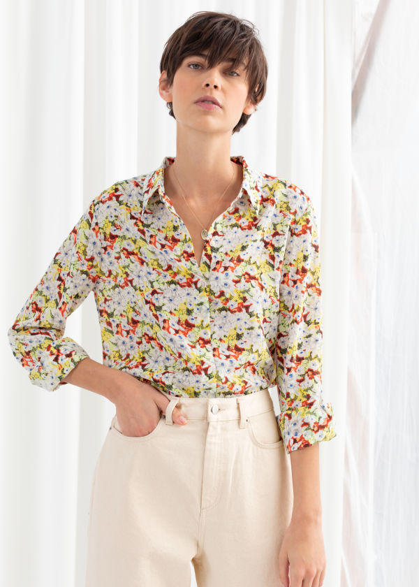 3b410b2085d9d Silk - Blouses   Shirts - Clothing -   Other Stories