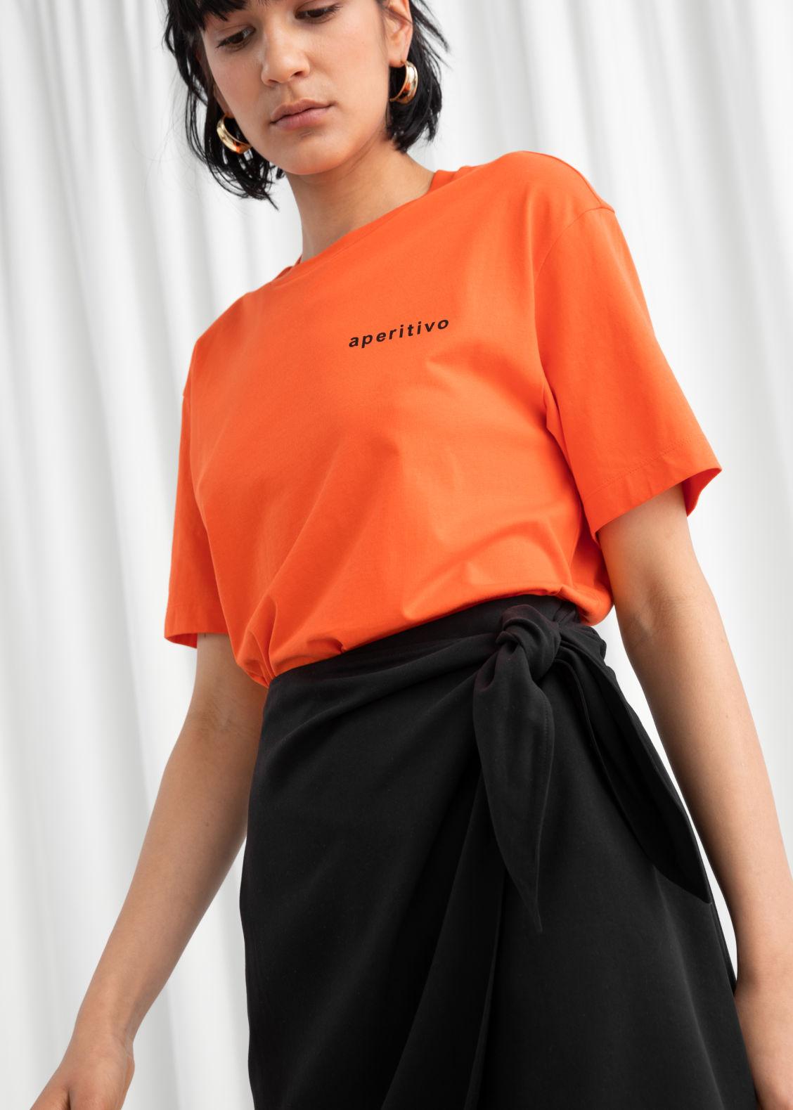 8fc6d7b4ff Lyocell Blend Wrap Mini Skirt - Black - Mini skirts -   Other Stories