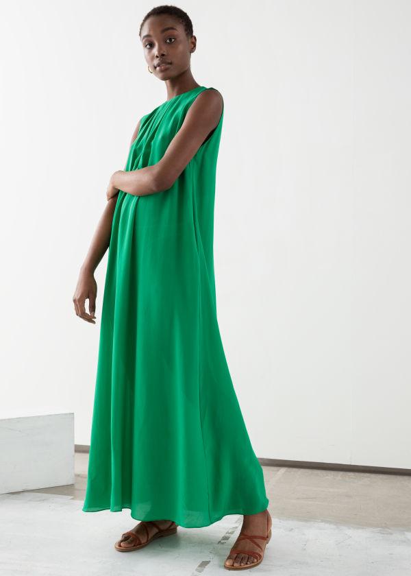 3ec2837504b Sleeveless Silk Midi Dress Sleeveless Silk Midi Dress · Sleeveless Silk  Midi Dress.  179. 0730922001 0730922 group 001 Maxi dresses ...