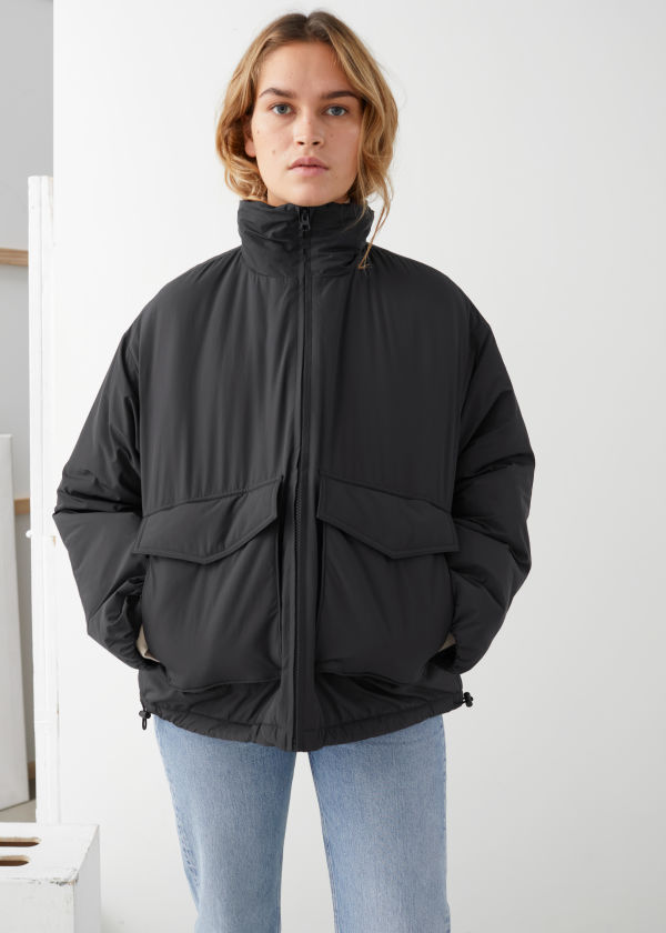 Padded Technical Utility Jacket