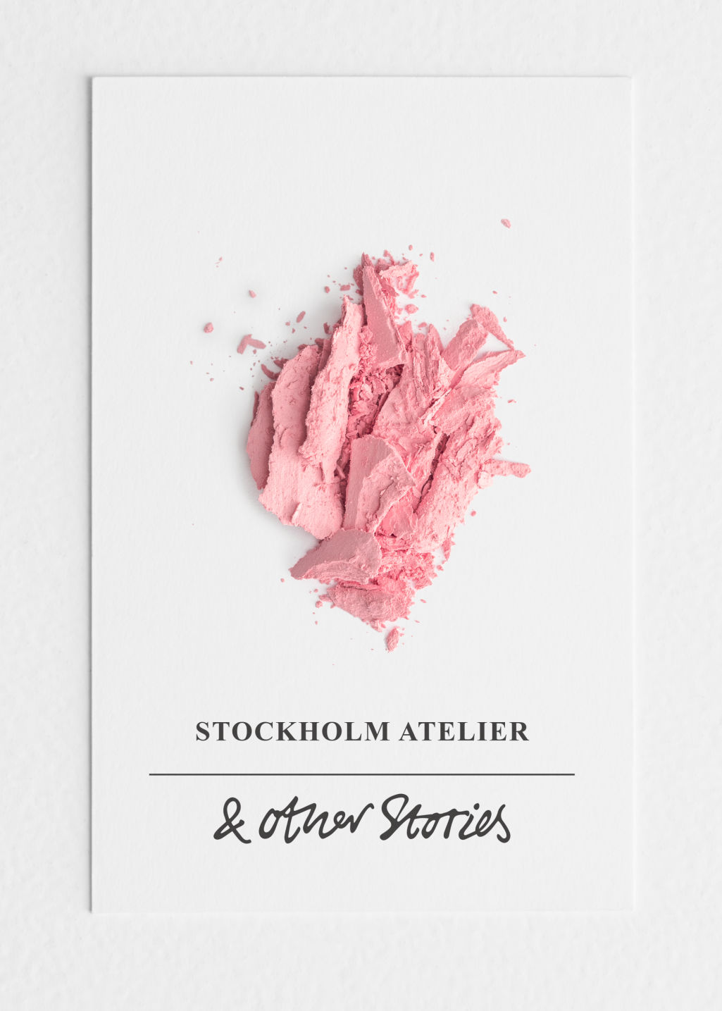 Back image of Stories blusher in pink