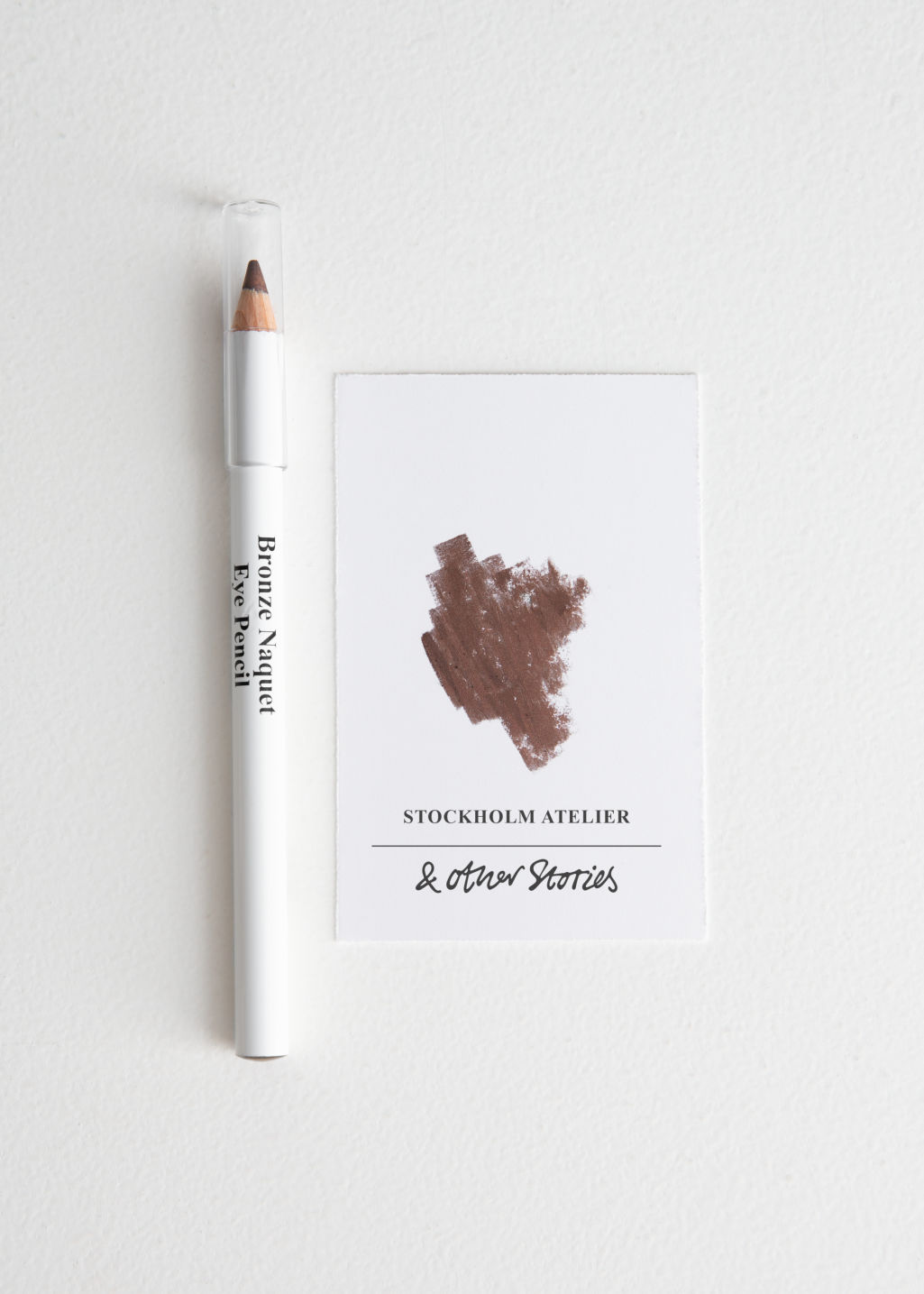 Front image of Stories eye pencil in beige