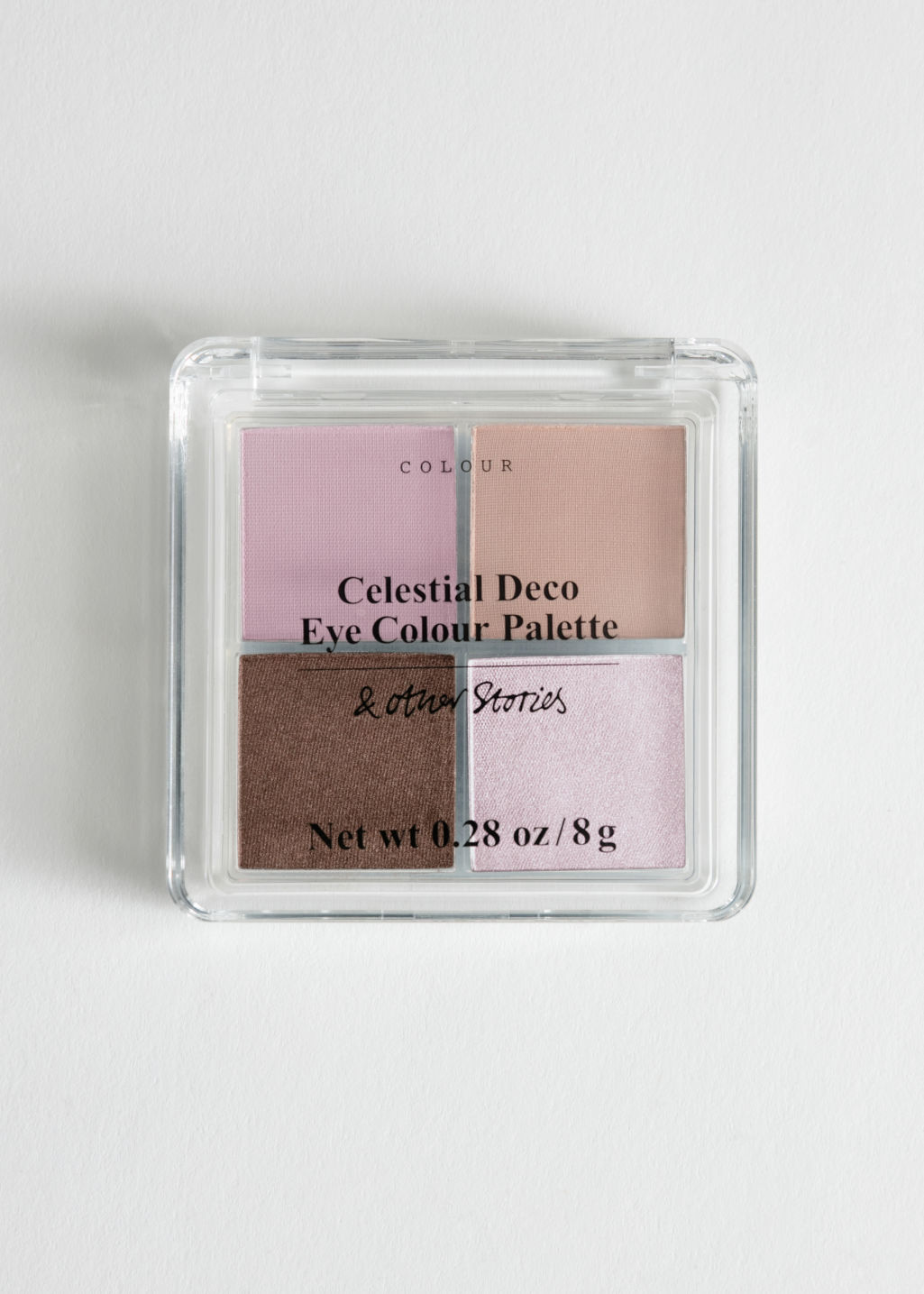 Front image of Stories eye colour palette in pink