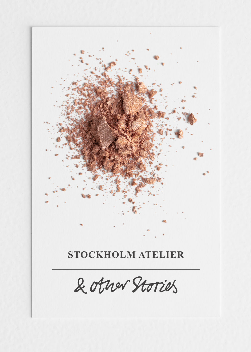 Back image of Stories metallic eyeshadow in brown