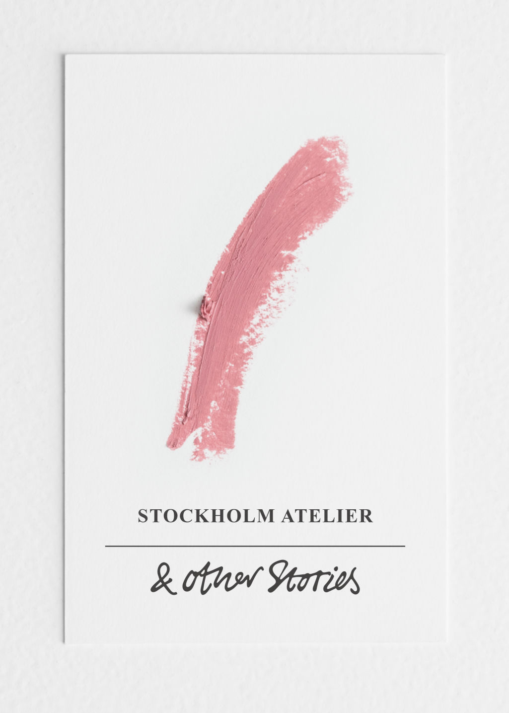 Back image of Stories lipstick in red
