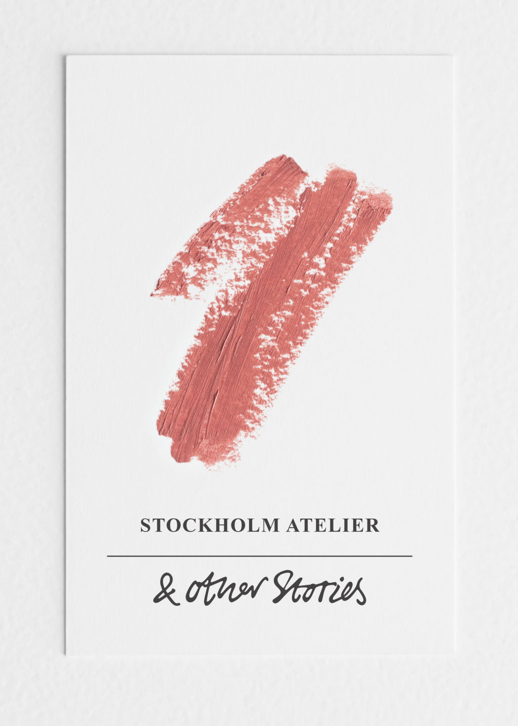 Back image of Stories lipstick in pink