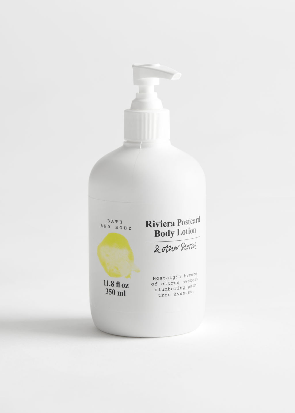 StillLife Front Image of Stories Body Lotion in Yellow