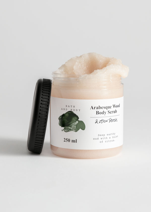 Arabesque Wood Body Scrub