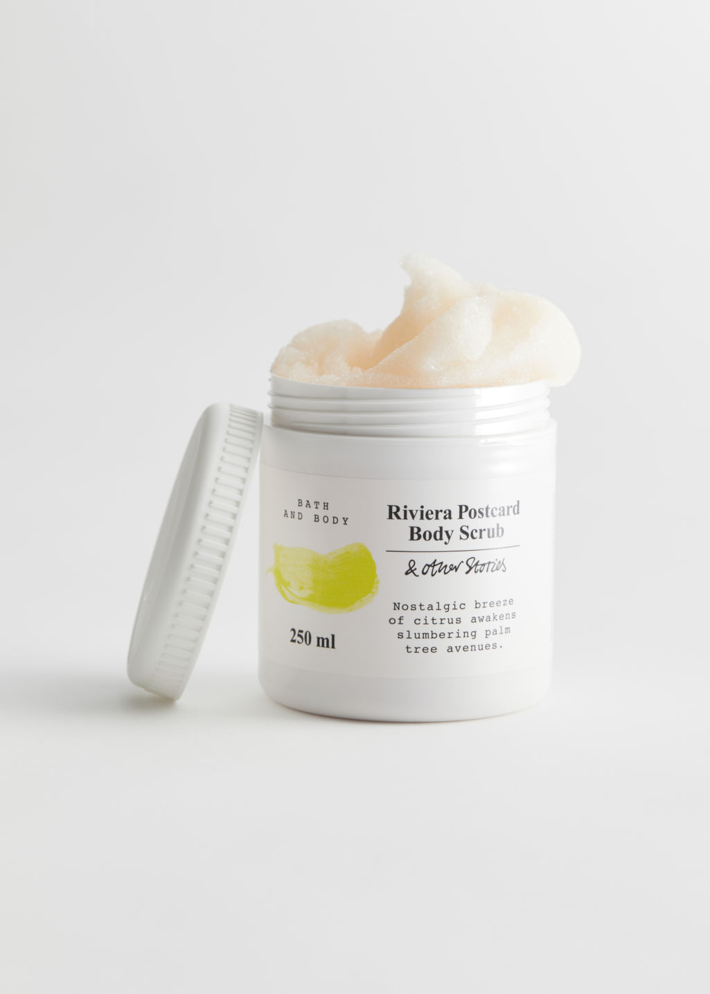 StillLife Front Image of Stories Body Scrub in Yellow
