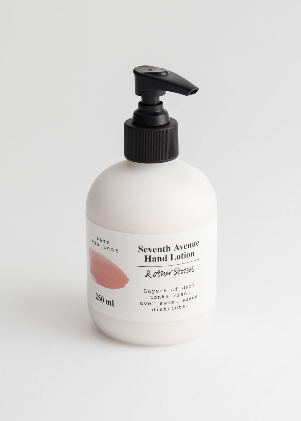 Front image of Stories hand lotion in orange