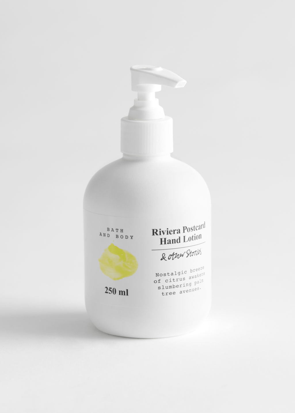 StillLife Front Image of Stories Hand Lotion in Yellow