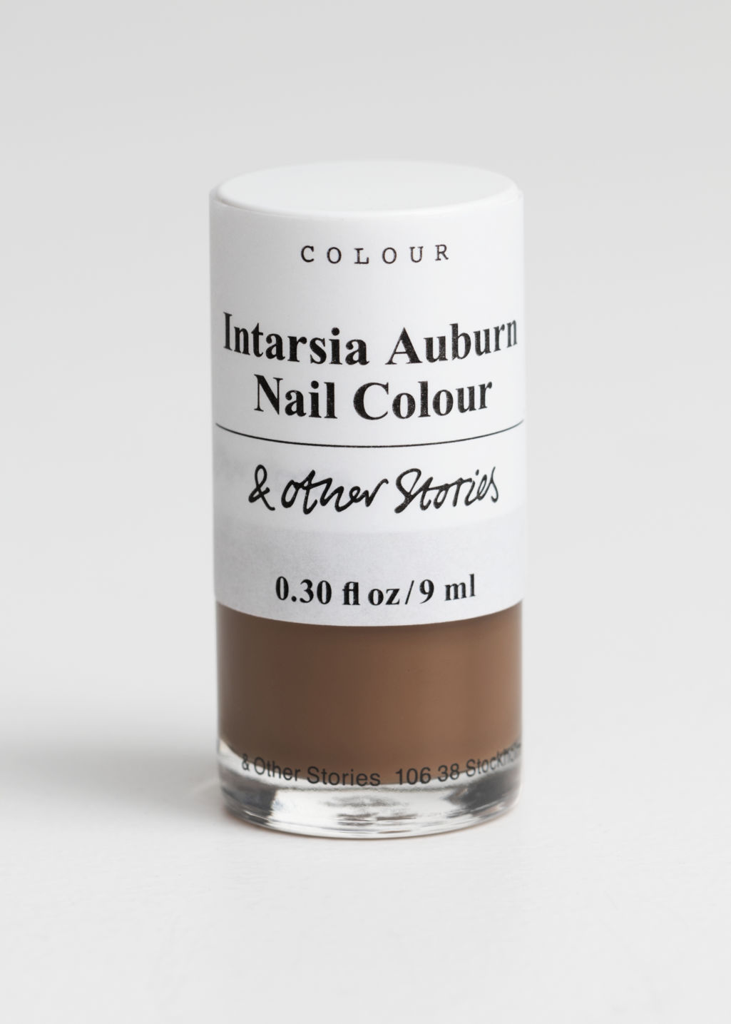 Front image of Stories nailpolish in beige