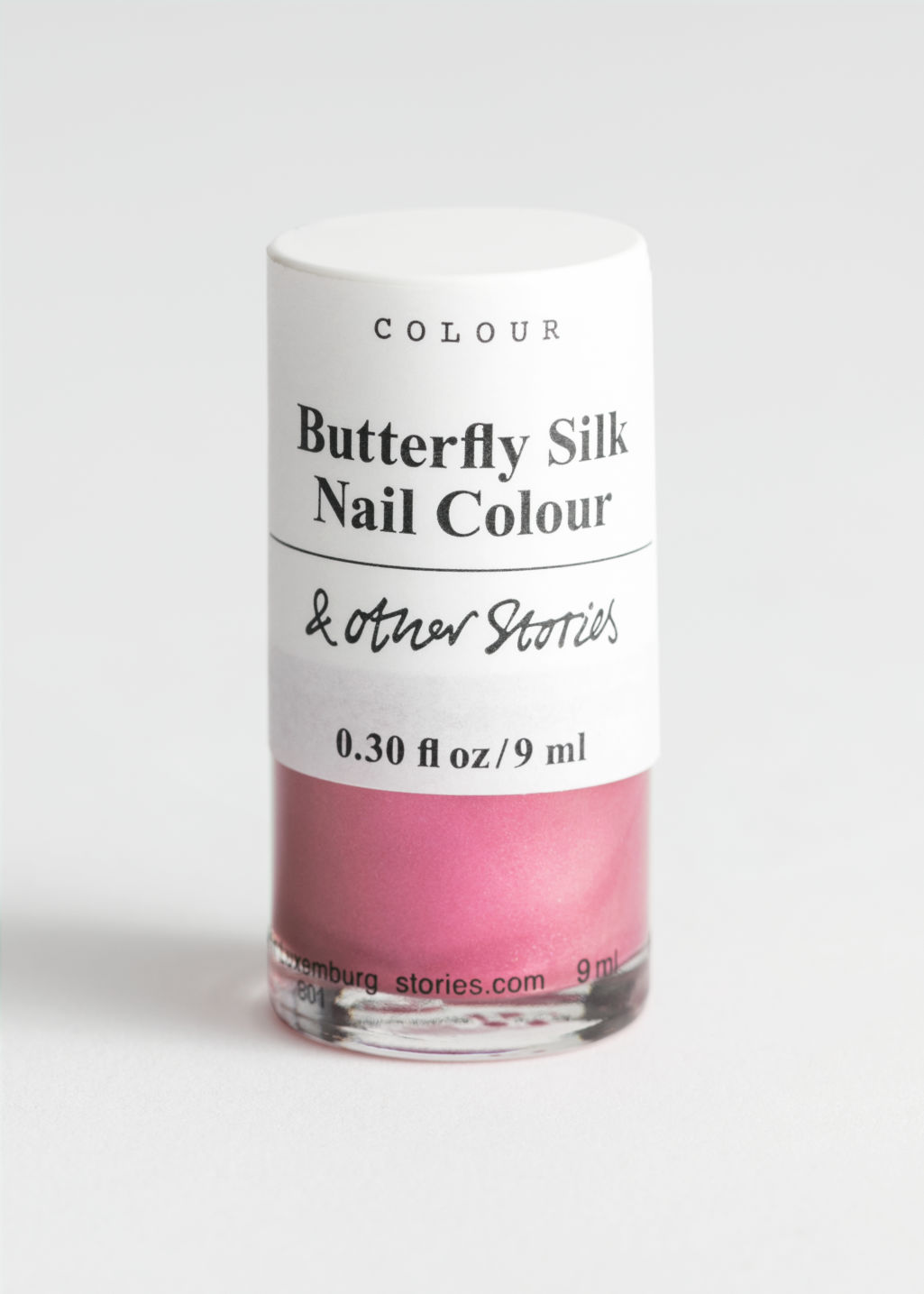 StillLife Front Image of Stories Nail Polish in Red