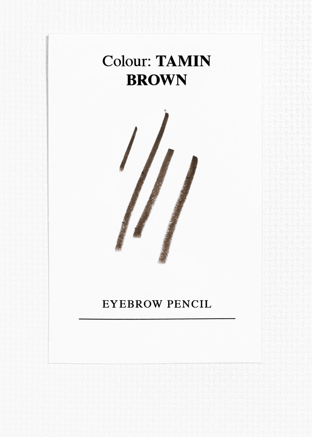 Back image of Stories eyebrow pencil in beige