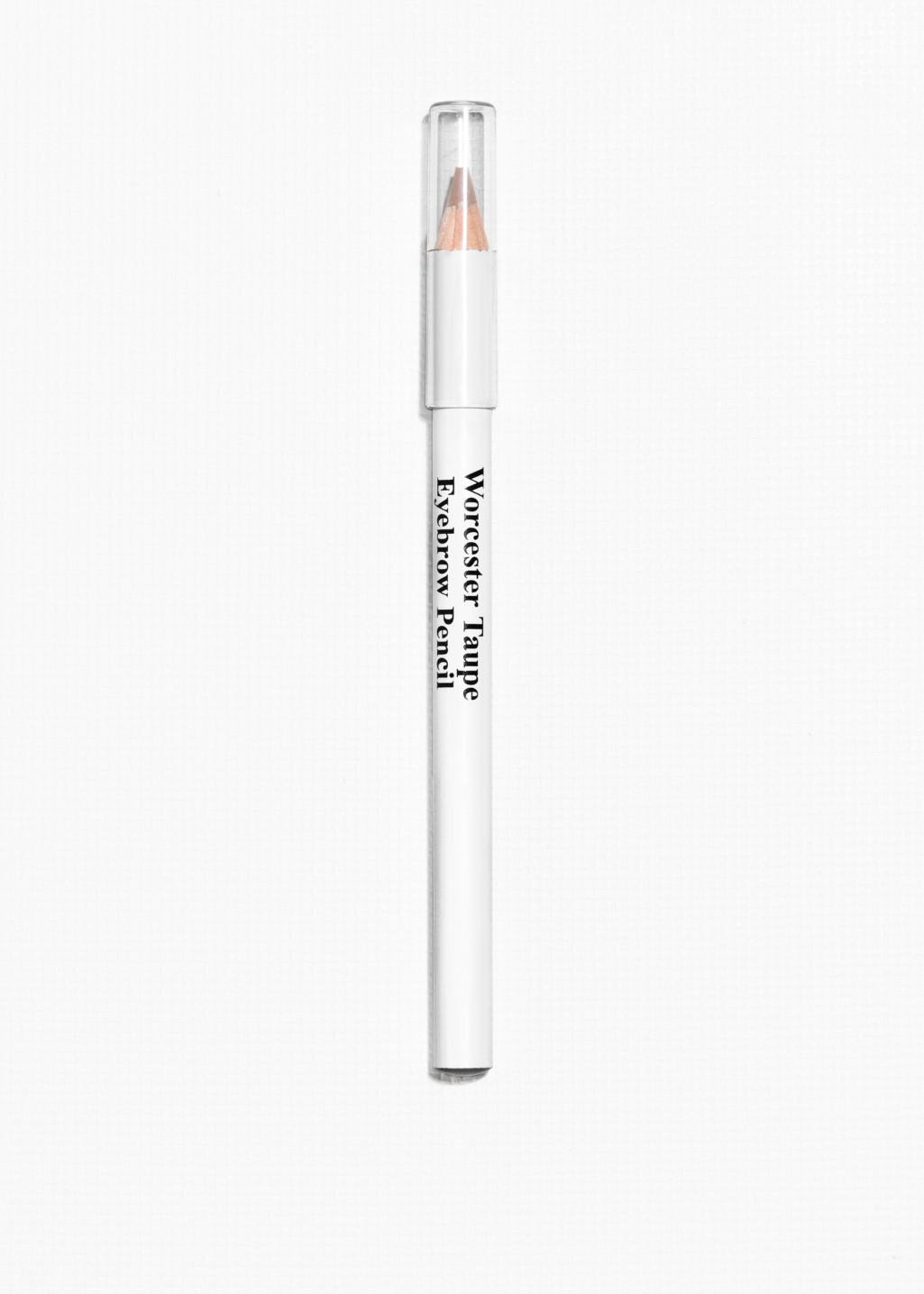Front image of Stories eyebrow pencil in beige
