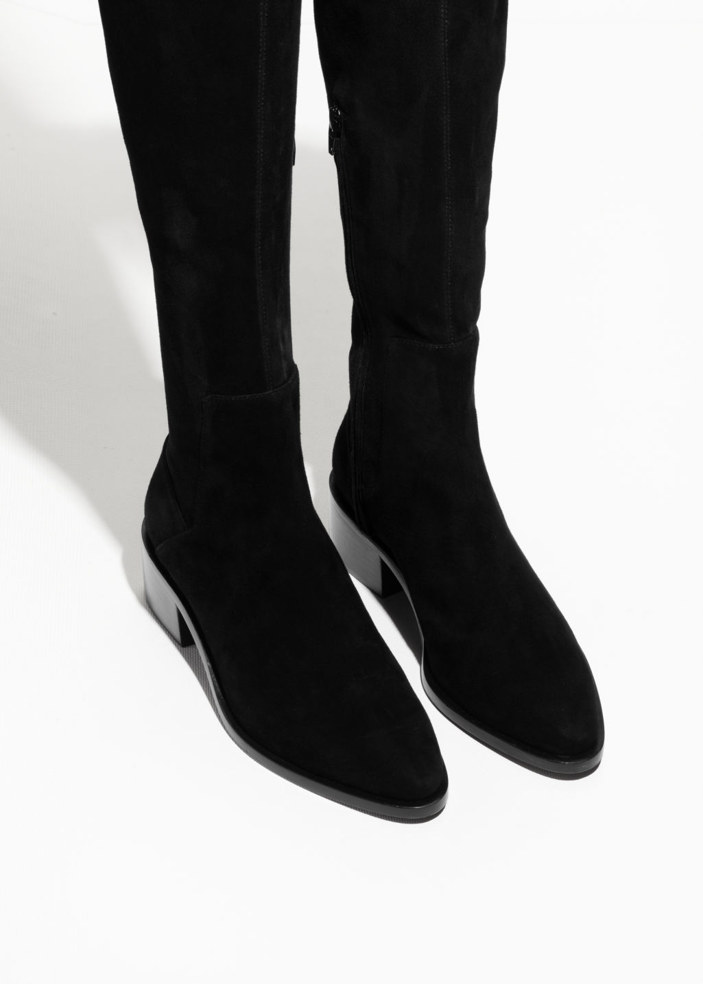 & OTHER STORIES Suede Over The Knee Boots dGkT4aYB