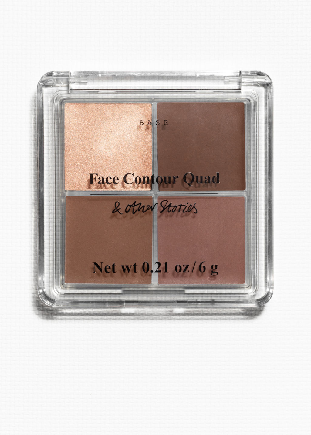 Front image of Stories face contour cream palette in orange