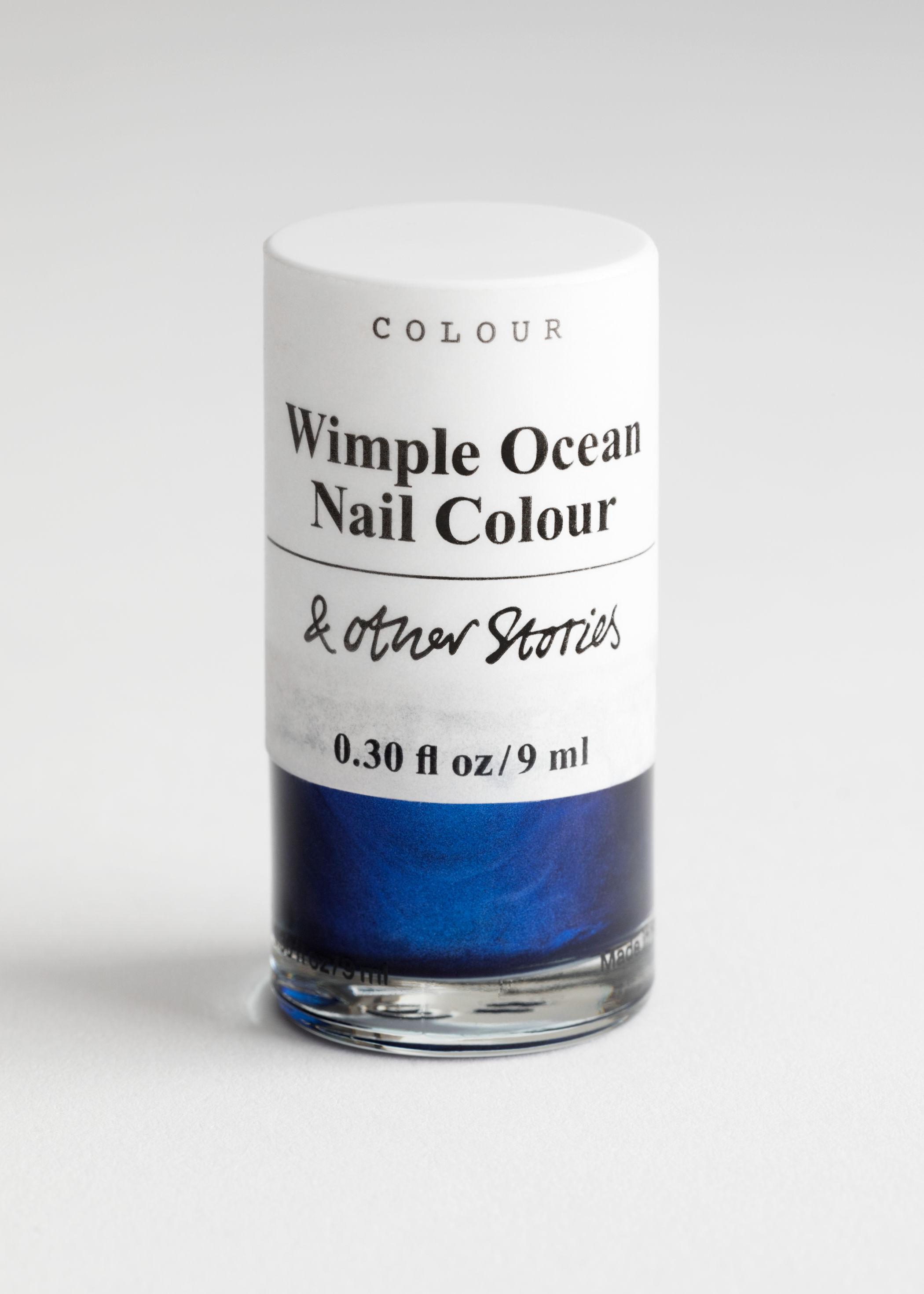 앤 아더 스토리즈 '윔플 오션' 네일 폴리시 매니큐어 (9ml) & OTHER STORIES Wimple Ocean Nail Polish