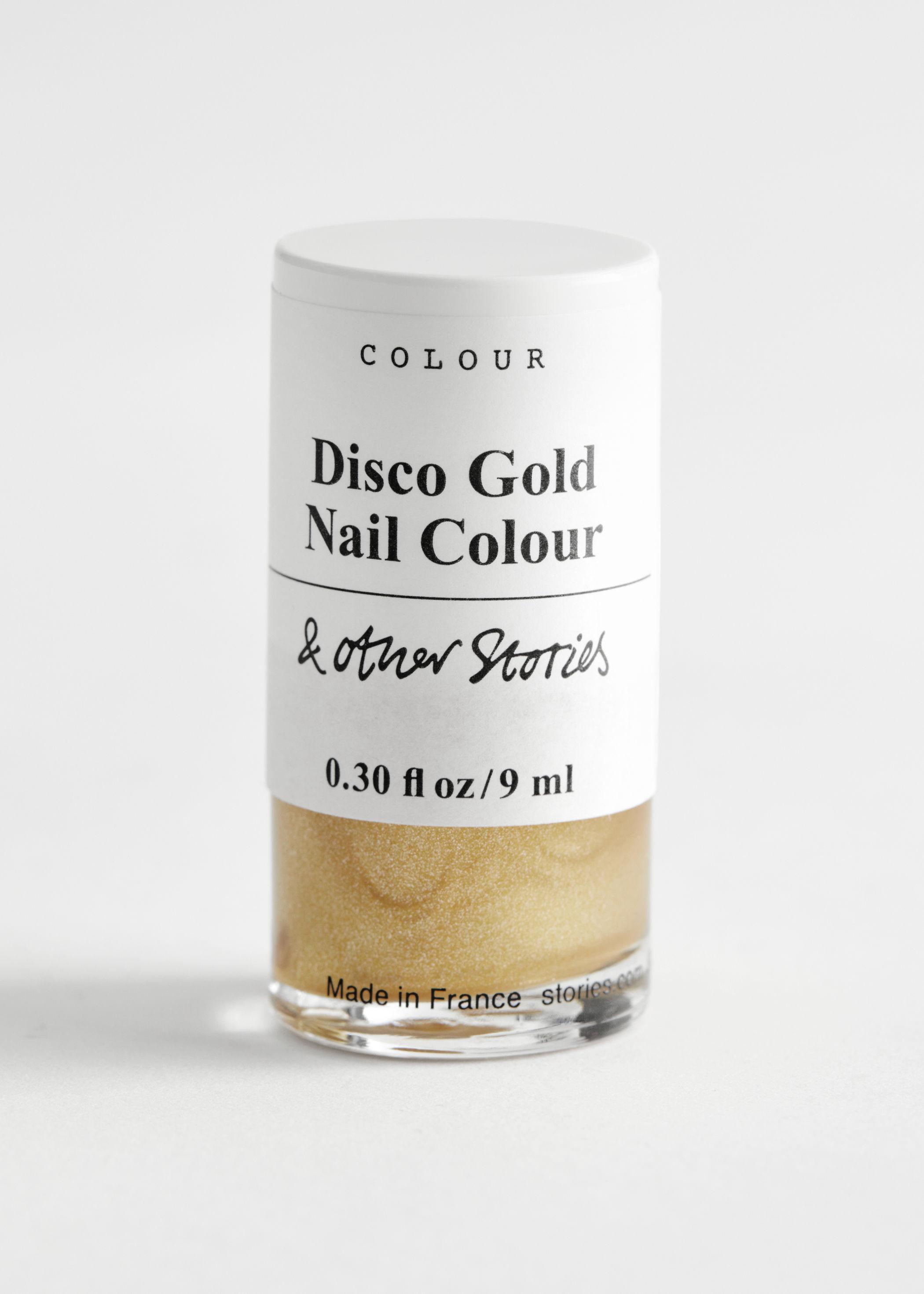 앤 아더 스토리즈 '디스크 골드' 네일 폴리시 매니큐어 (9ml) & OTHER STORIES Disco Gold Nail Polish