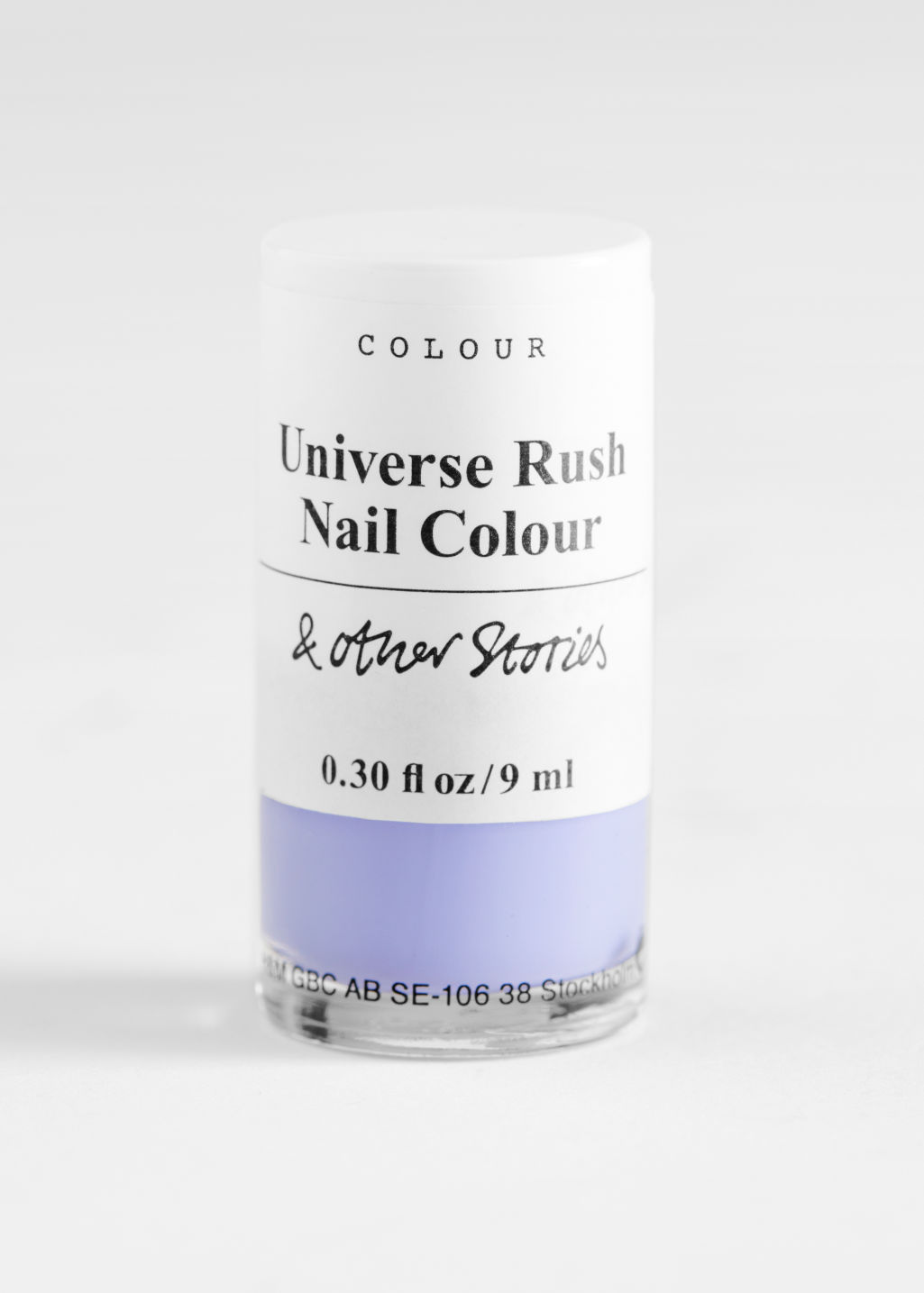 StillLife Front Image of Stories Nail Polish in Pink