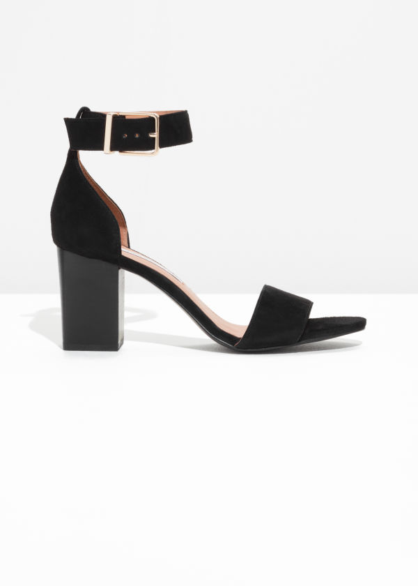 Almond Toe Suede Sandals