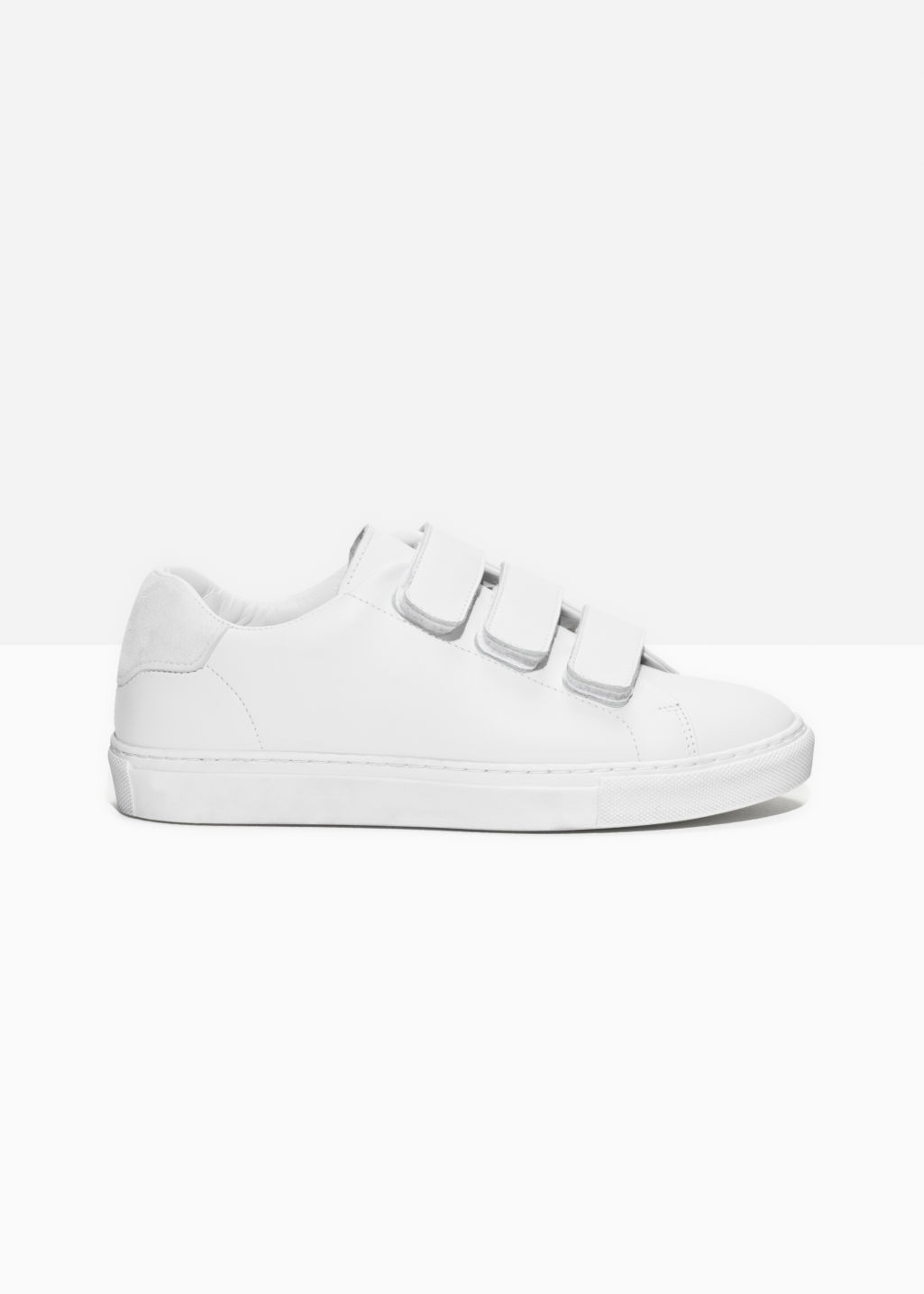 & OTHER STORIES Scratch Strap Patent Leather Sneaker zIRxlP