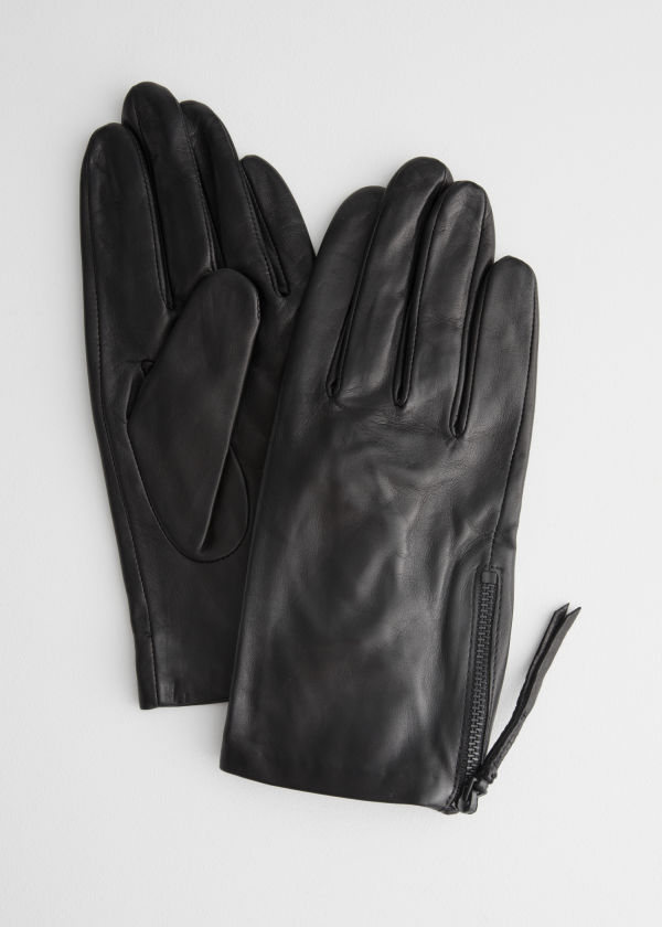 Side Zip Gloves