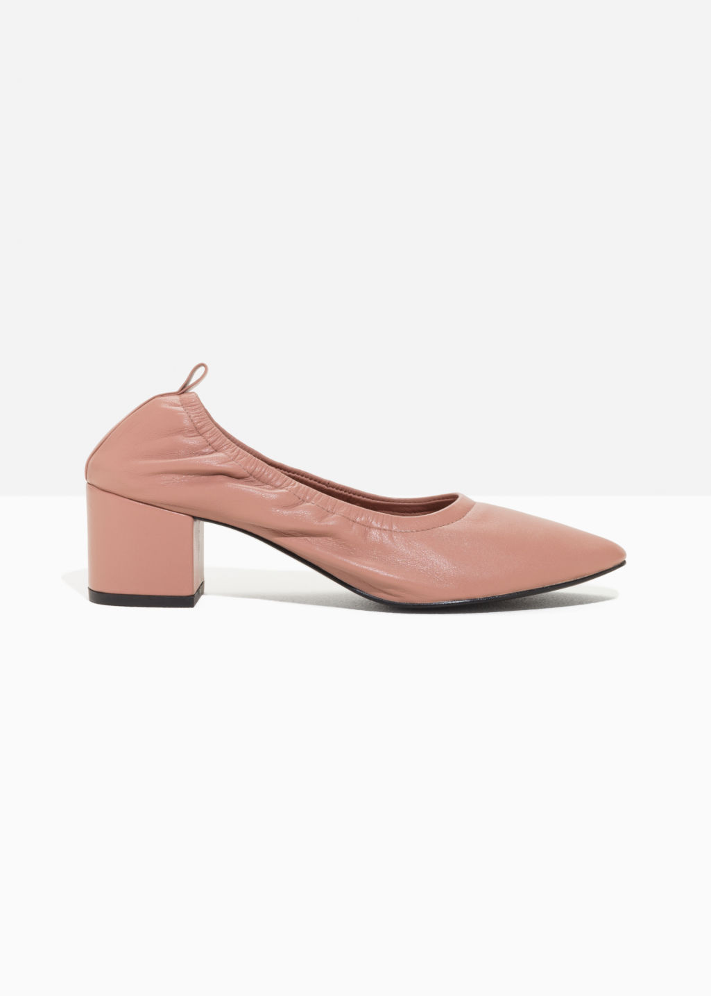 & OTHER STORIES Ballerina Leather Pumps XUSp1kElF