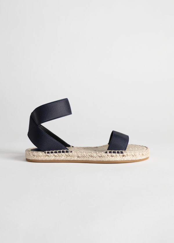 Strappy Espadrille Sandal