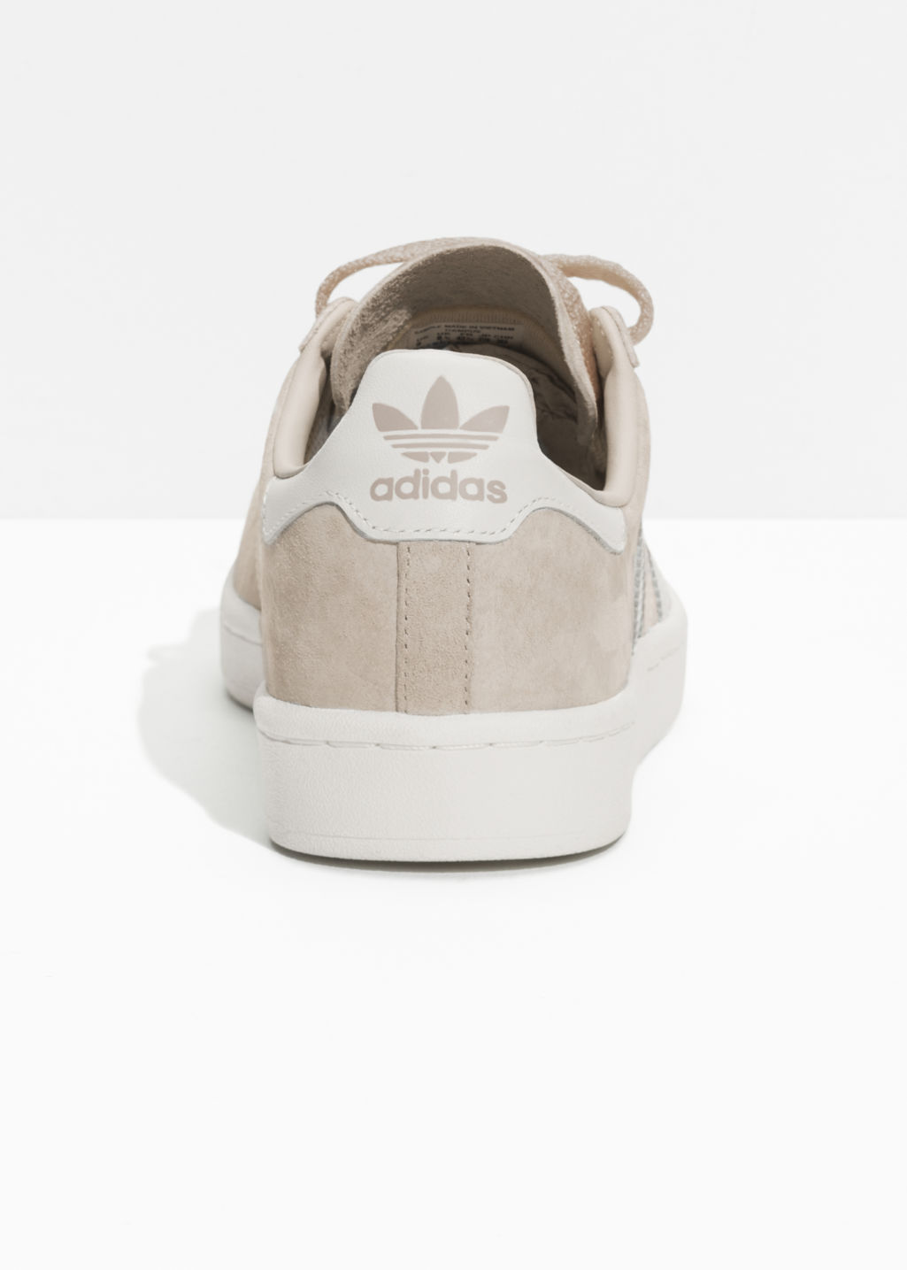 Back image of Stories adidas campus in white