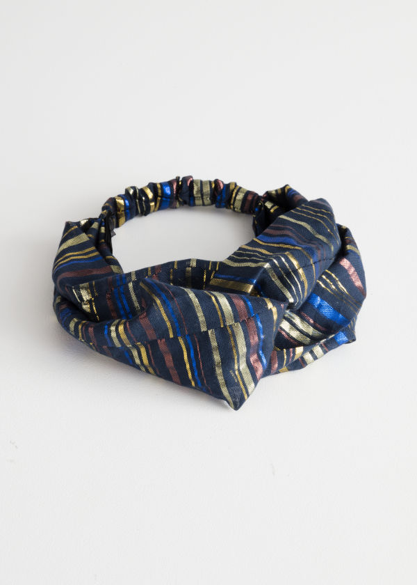 Twisted Print Hairband