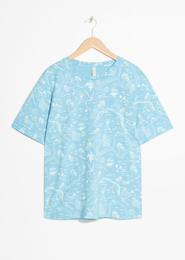 Tropical Map T-Shirt