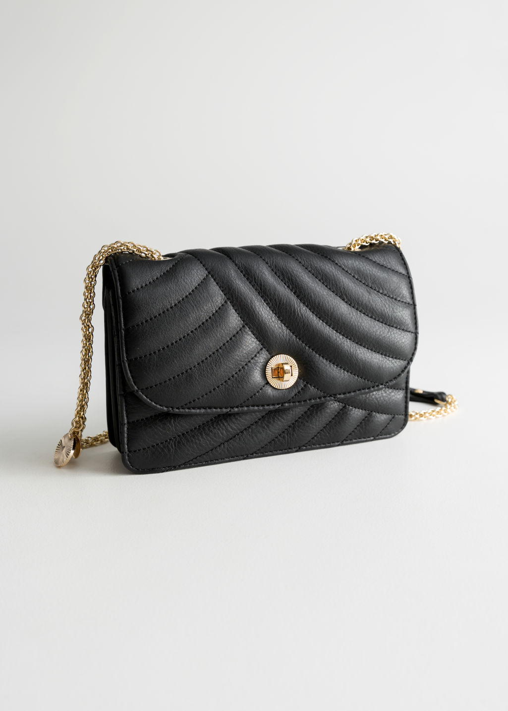Quilted Small Leather Bag