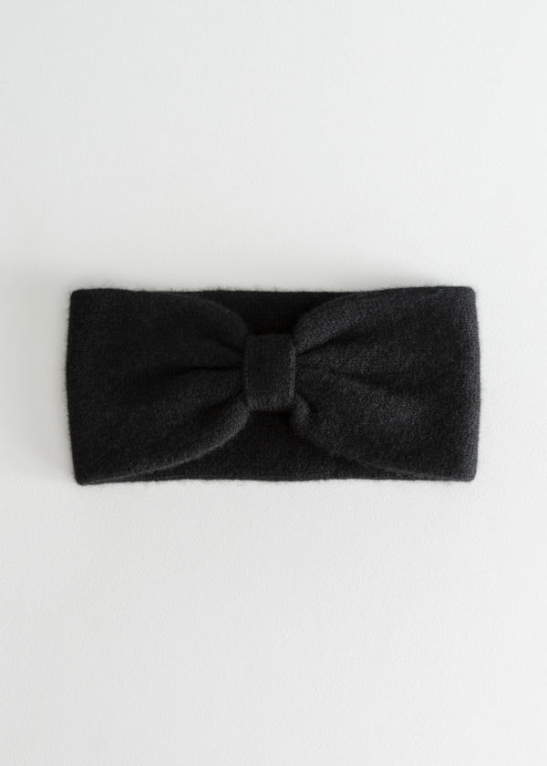 Cashmere Bow Headband
