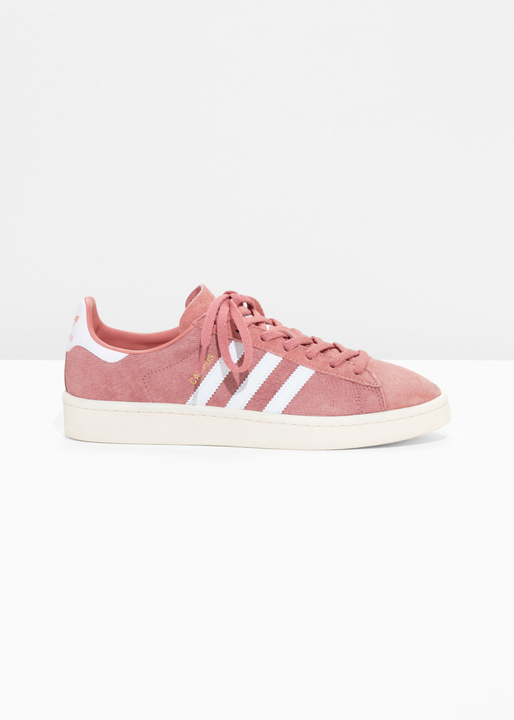 Front image of Stories adidas campus in pink