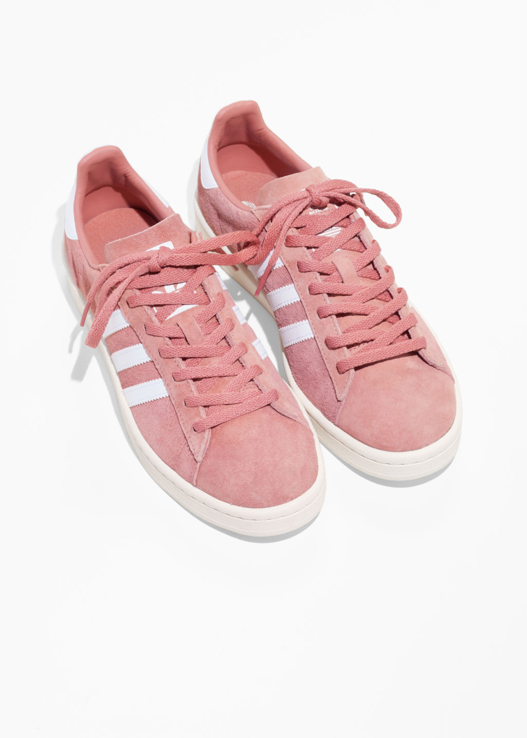 Back image of Stories adidas campus in pink