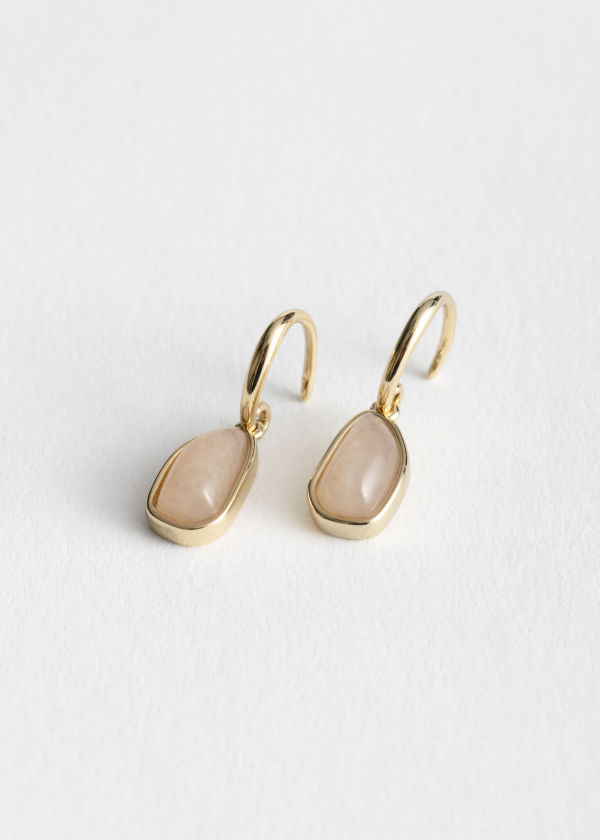 Hanging Stone Earrings
