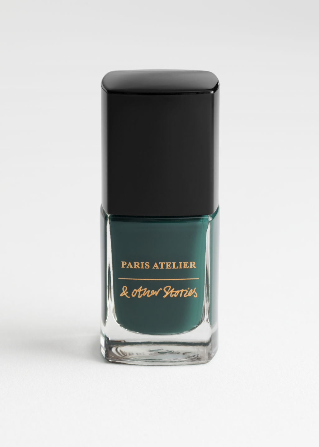 StillLife Front Image of Stories Nail Polish in Green