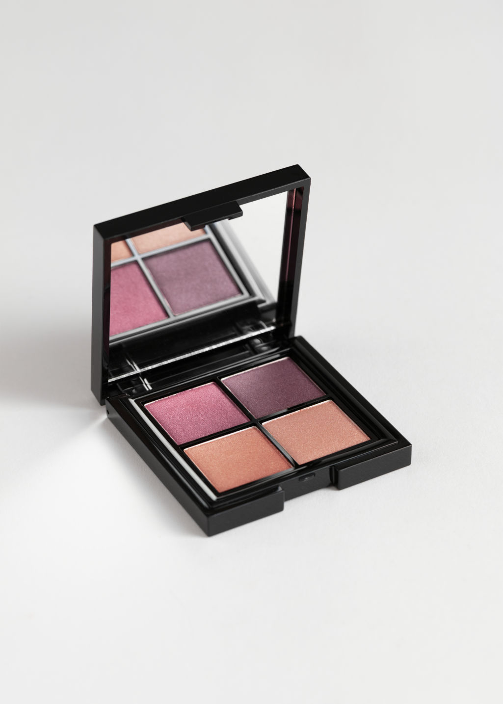 Front image of Stories eyeshadow palette in pink
