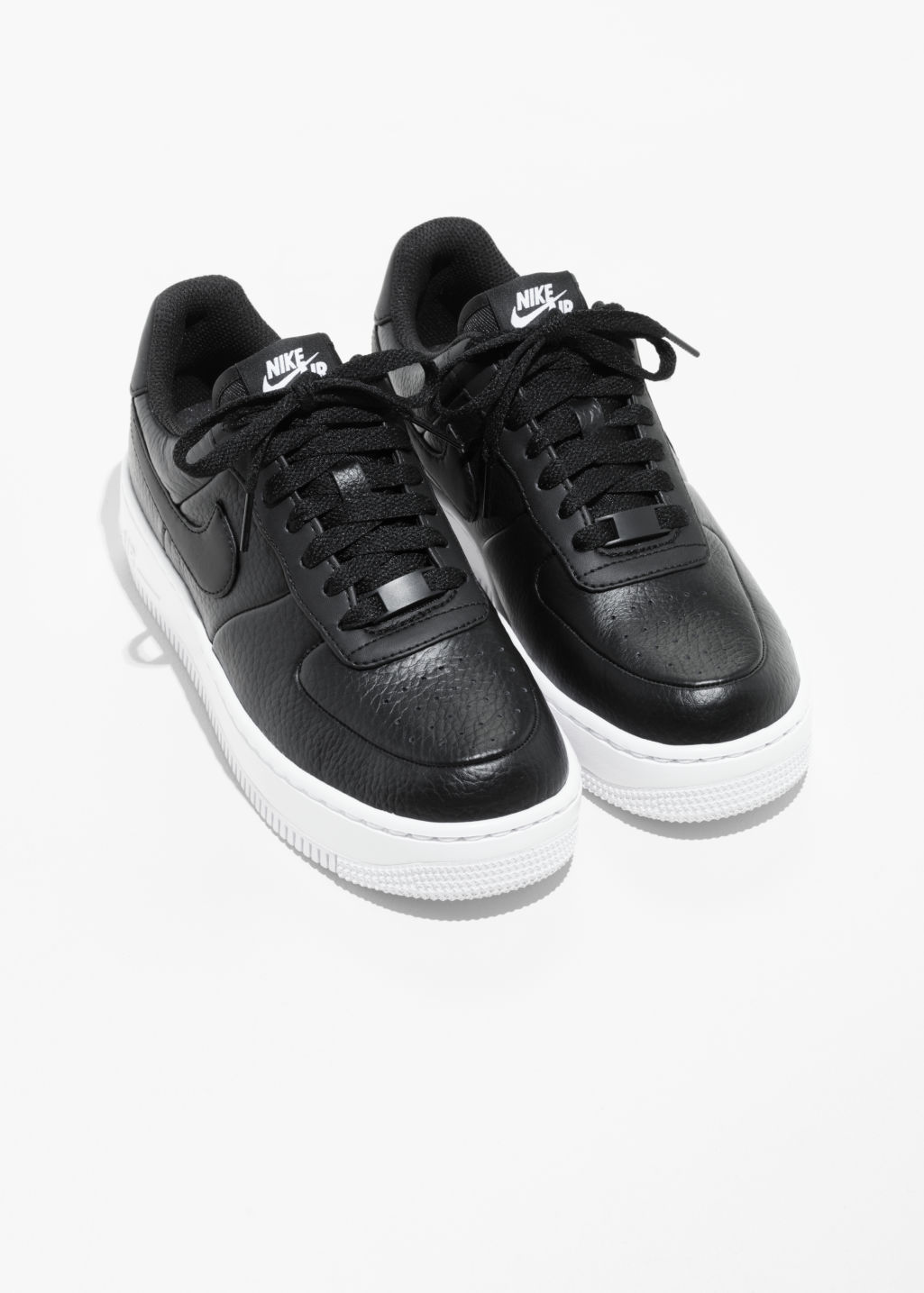 Back image of Stories n air force 1 upstep in black