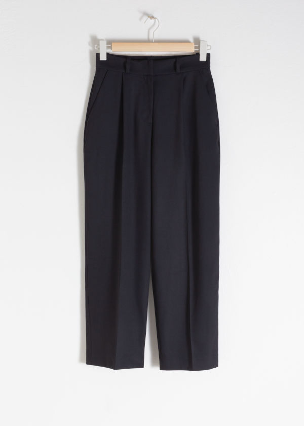 Tailored Straight Pants