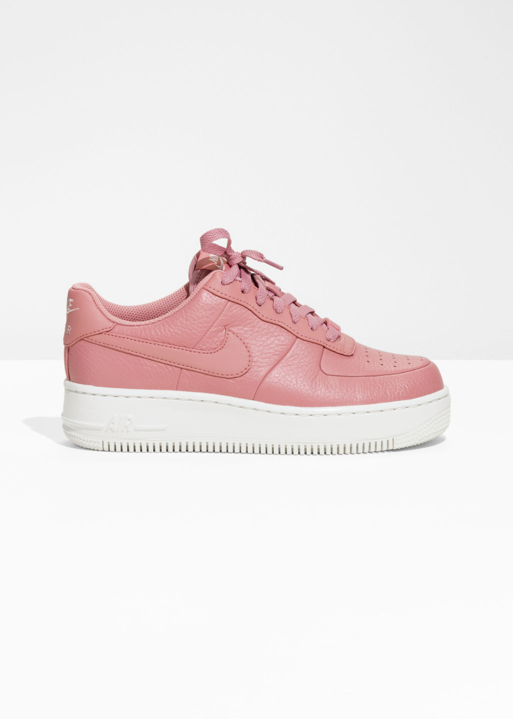 competitive price 469ec 9e491 ... best front image of stories nike air force 1 upstep in pink 8d4a8 38680