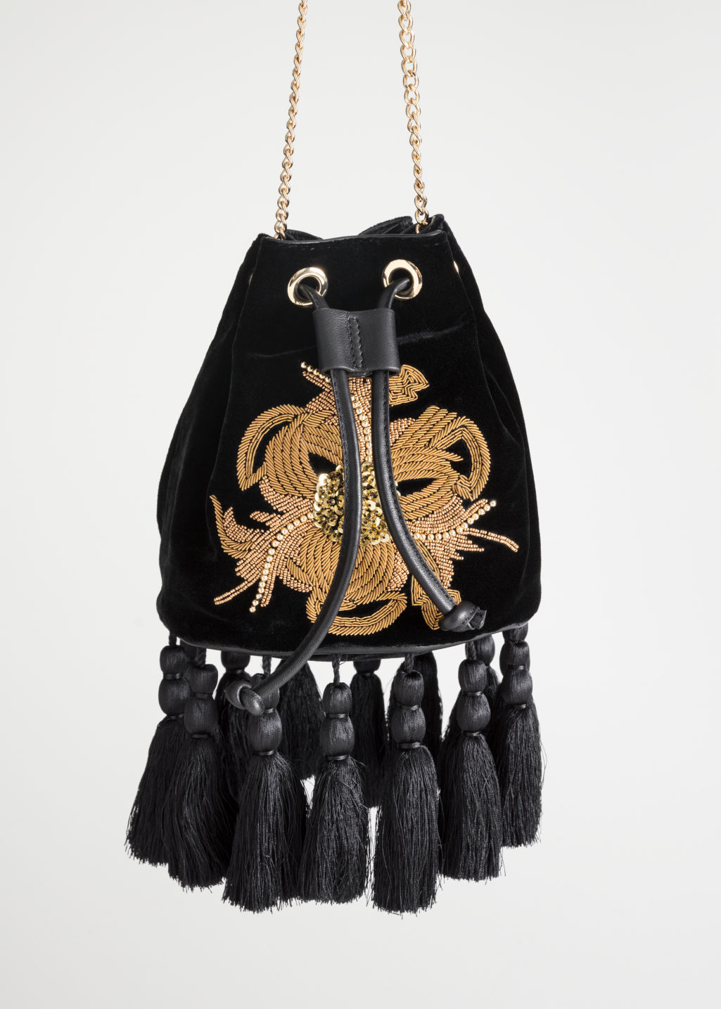Back image of Stories p olga small bag in black
