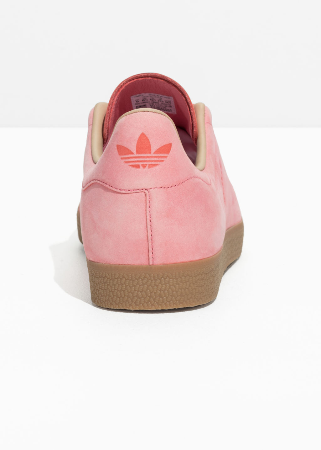 Back image of Stories adidas gazelle decon in pink