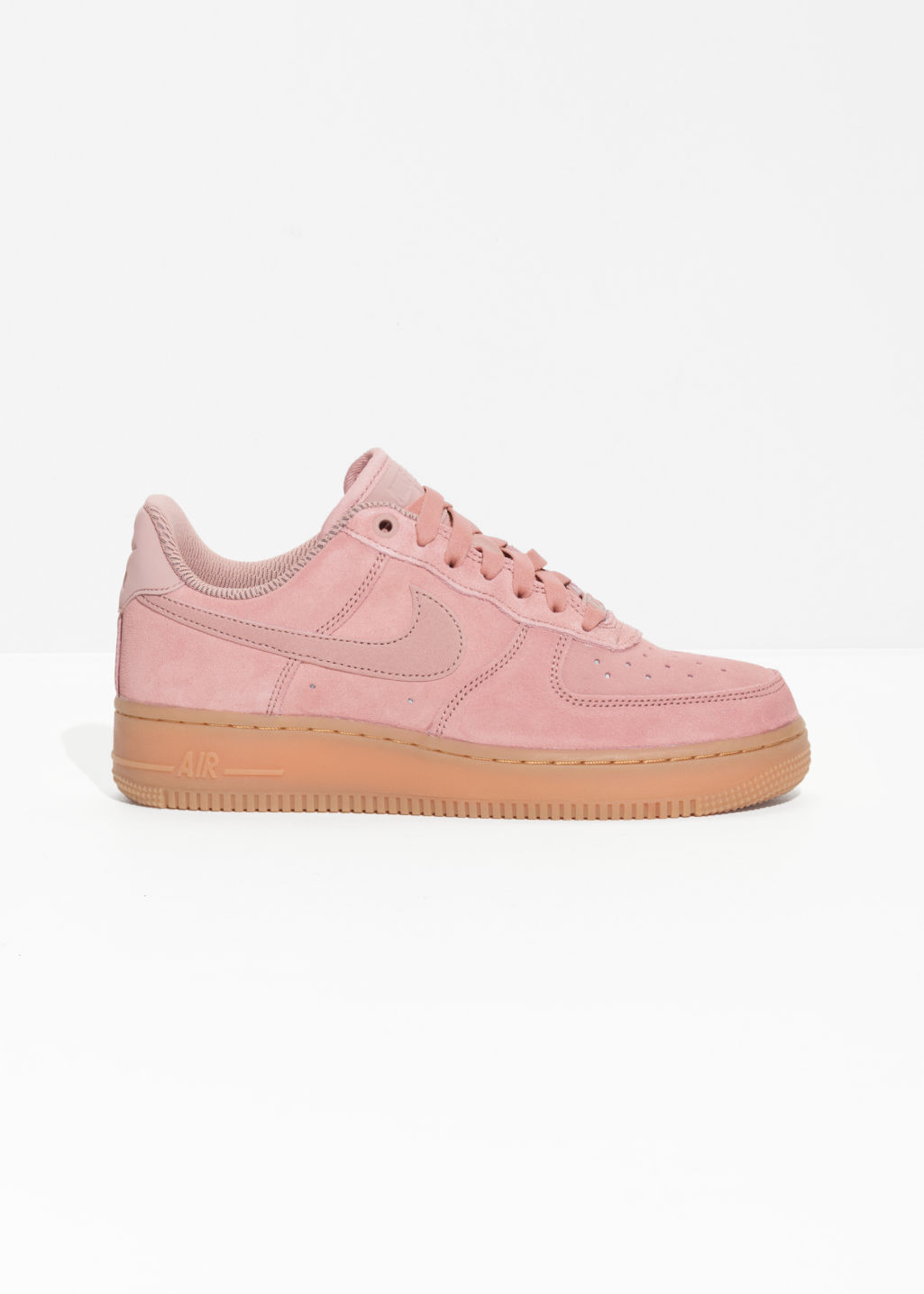 Front image of Stories nike air force 1 '07 in pink